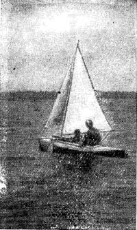 Фото паруса на байдарке
