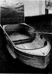 Фото собранной лодки