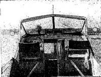 Фото внутренней части катера
