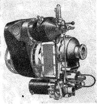 Фотография газовой турбины