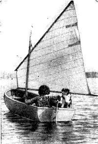 Фотография готового паруса