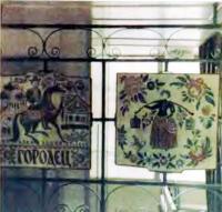 Фрагмент интерьера вестибюля