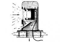 Гакабортный огонь в вентиляторе
