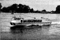 Глиссирующий речной автобус «Опытный-3»