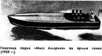 Гоночная лодка «Мисс Америка»