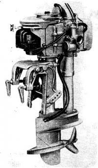 Гоночный мотор Бритиш Анзани