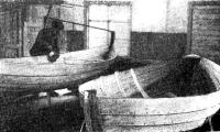 Готовые лодки длиной 7 м стоимостью 196 руб