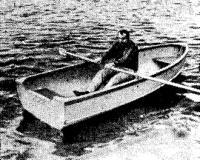 Гребная лодка «Форель»