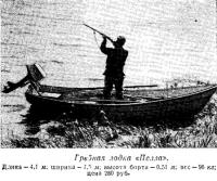 Гребная лодка «Пелла»