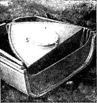 Haшa лодка в сложенном виде