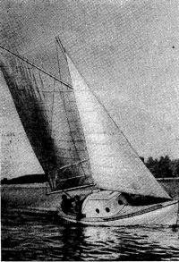 Ходовые испытания яхты