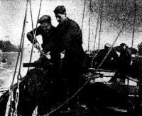 Идет достройка первой яхты из серии 38-тонных крейсеров «Ударника»