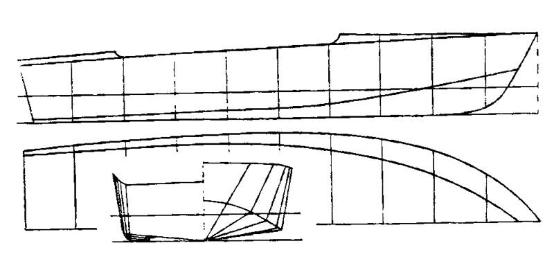 Как построить  катер из стеклопластика 265