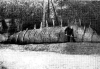 Изготовление земляной формы корпуса яхты