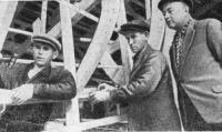 Известный конструктор советских килевых яхт А. П. Киселев