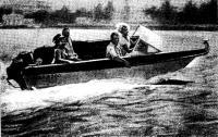 «Кафа-2500» на ходу с четырьмя пассажирами