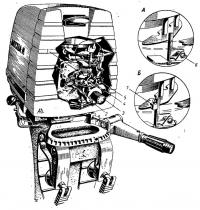 Карбюратор мотора «Москва»