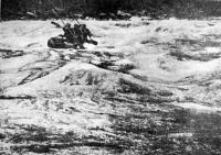 Катамаран на порогах Кантегнра (август 1970 г.)