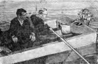 Катамаран на веслах