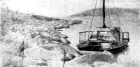 Катамаран «Север» у берега