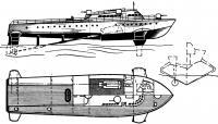 Катер «VS-8» конструкции Г. Шертеля. (1943 г.)