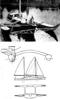 «Коала-III» — тримаран Эдит Бауман