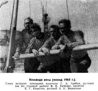 Команда яхты