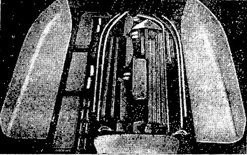 Комплект деталей корпуса мотолодки