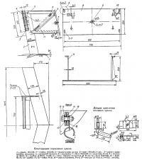 Конструкция кормового крыла