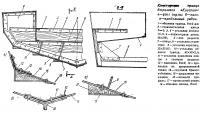 Конструкция транца дюралевой «Косатки»
