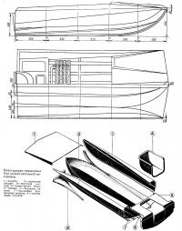 Конструкция тримарана для самостоятельной постройки
