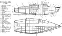 Конструктивные чертежи — продольный разрез и планы