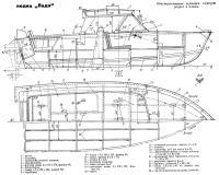 Конструктивные чертежи корпуса: разрез и планы