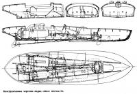 Конструктивные чертежи лодки «Мисс Англия II»