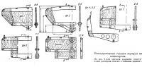 Конструктивные сечения корпуса по шпангоутам