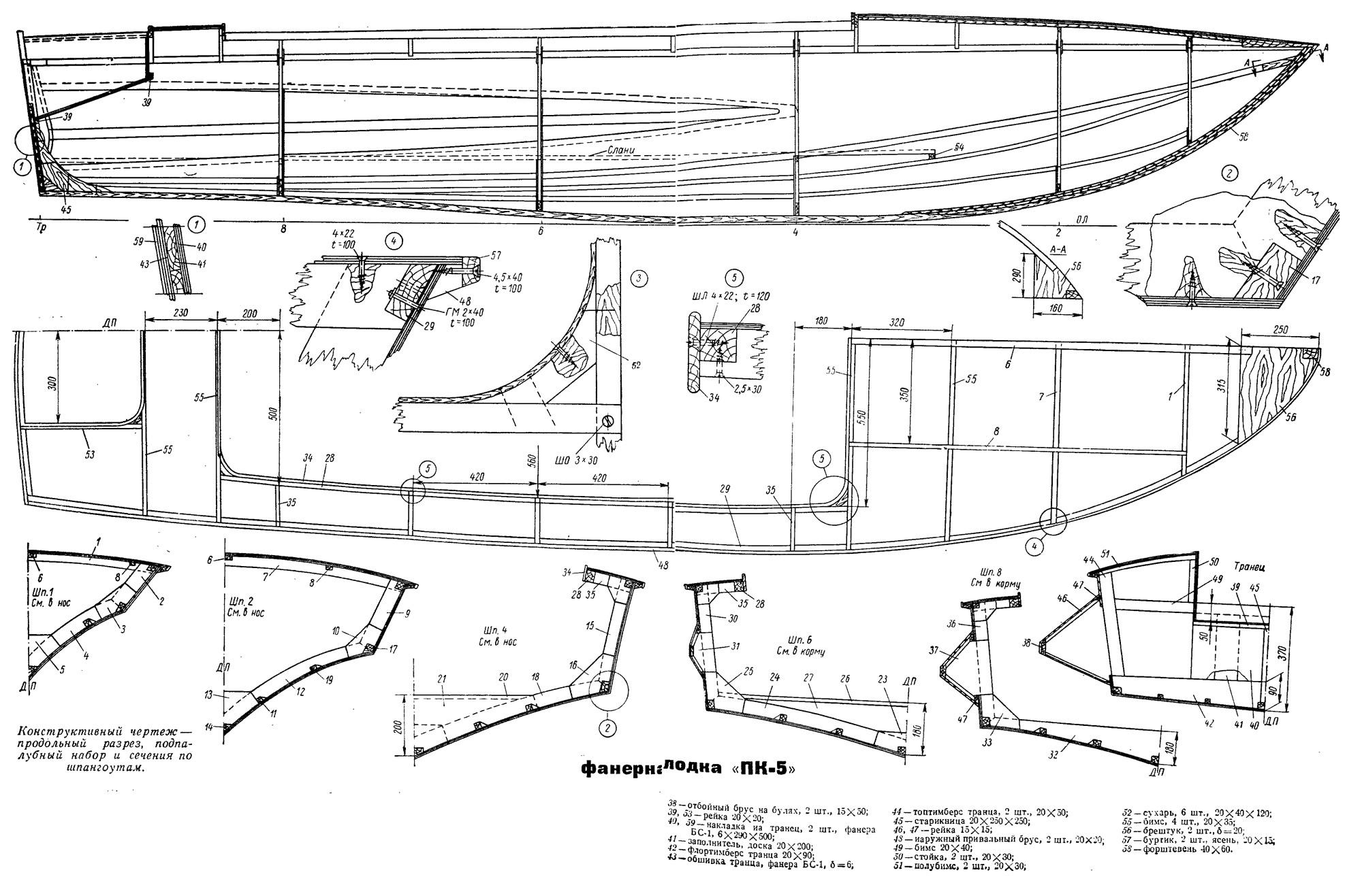 Проекты катеров, лодок и яхт для самостоятельной постройки 6