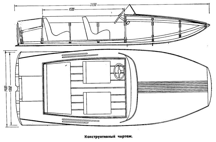 проекты самодельных лодок под мотор