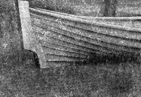 Кормовая часть лодки