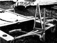 Кормовое крыло «Икаруса» в сложенном виде
