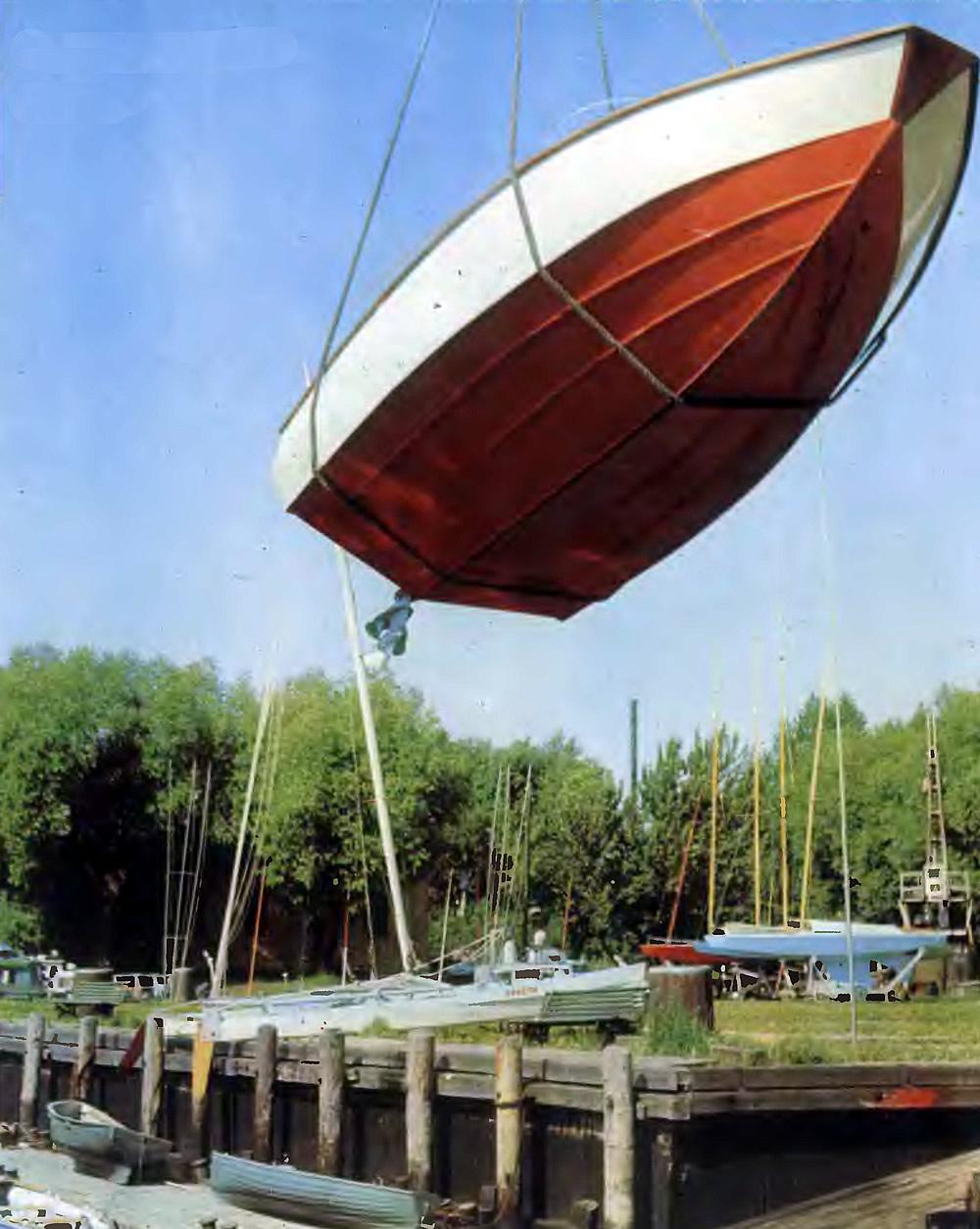 циркуляция сверху лодке