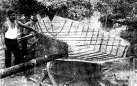 Крепление стеклоцементных листов обшивки к металпическому набору яхты