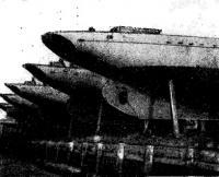 Крейсера постройки верфи «Спортсудостроитель» на стенке яхт-клуба
