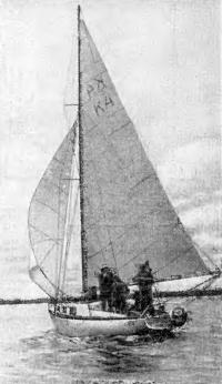 Крейсерская яхта-компрсмисс «Голгофа» Б. Мокеева
