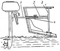 Кронштейн для подвесного мотора