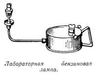 Лабораторная бензиновая лампа