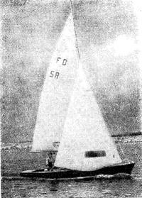 «Летучий Голландец» под парусами