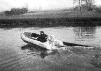 Лодка фирмы «Авон» на ходу