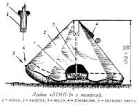 Лодка «ЛГНП-2» с палаткой