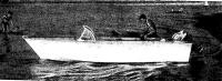 Лодка «НГМ» на воде