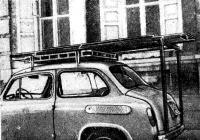 Лодка Орлова на багажнике автомобиля